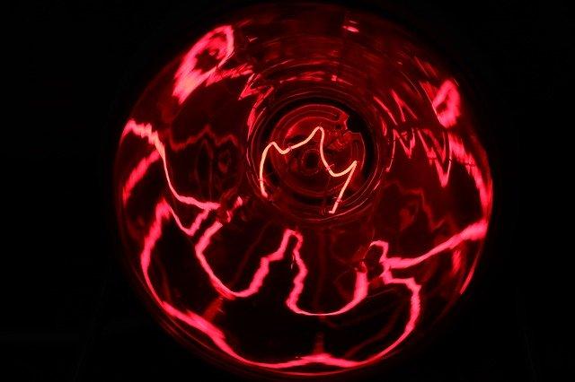 Rotlichtlampe hilft
